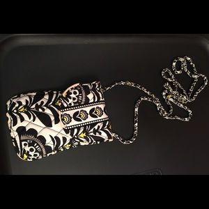 Vera Bradley crossbody phone pouch
